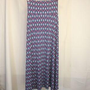 LuLaRoe Skirts - Lularoe Women's XS Skirt Geometric Maxi